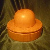 Материалы для творчества handmade. Livemaster - original item PORK PIE HAT WITH A ROUND CROWN. Handmade.