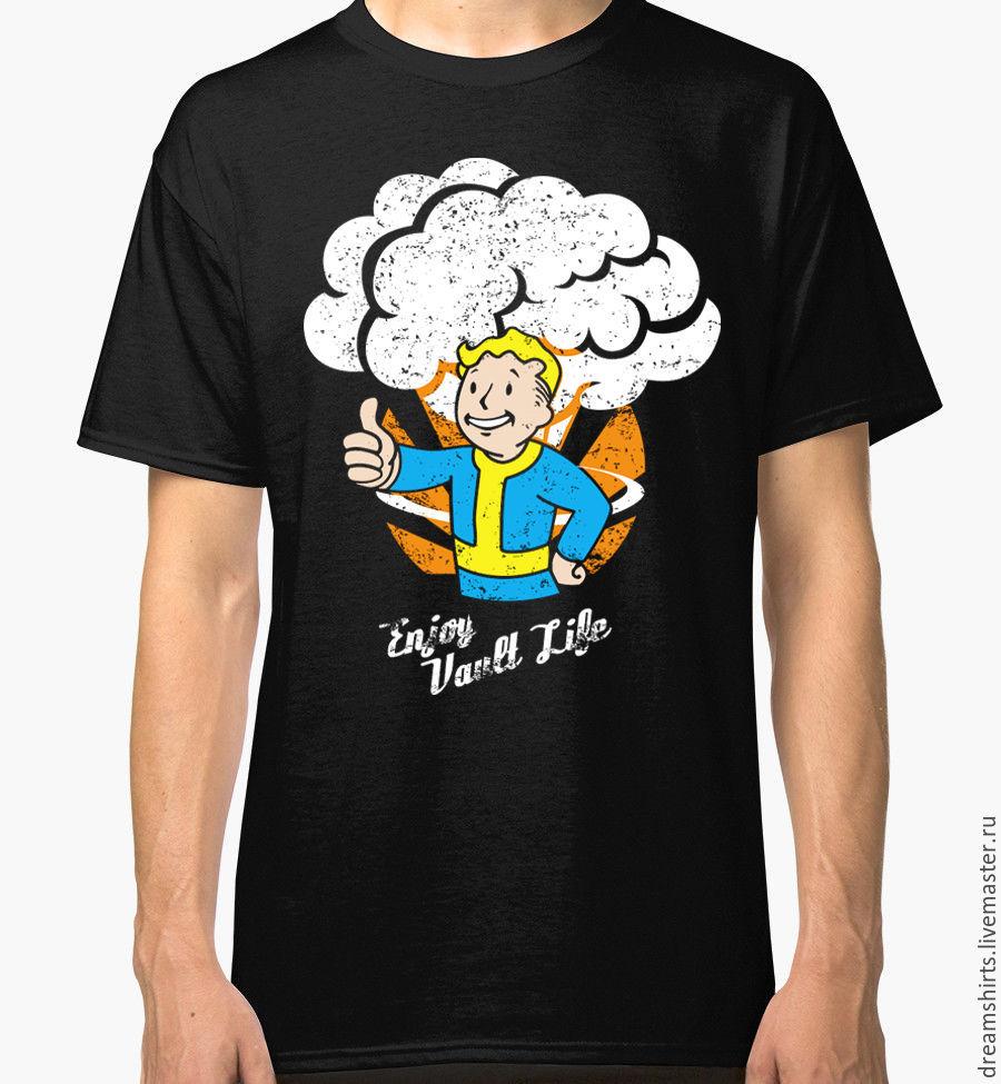 """Футболка с принтом """"Fallout - Pip-Boy"""", T-shirts, Moscow,  Фото №1"""