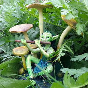 Куклы и игрушки ручной работы. Ярмарка Мастеров - ручная работа Эль, флейтист волшебного народца. Handmade.