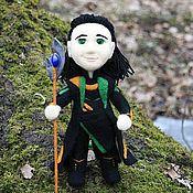 Куклы и игрушки ручной работы. Ярмарка Мастеров - ручная работа Локи, кукла войлочная. Handmade.