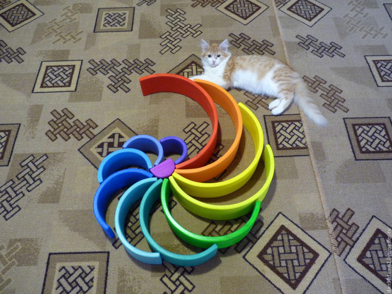 A great rainbow, Stuffed Toys, Kukmor,  Фото №1