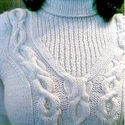 """Одежда ручной работы. Ярмарка Мастеров - ручная работа cвитер """"Снежные тропинки"""". Handmade."""