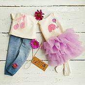 Куклы и игрушки ручной работы. Ярмарка Мастеров - ручная работа Мими кукла из ткани. (Кукла с одеждой). Handmade.