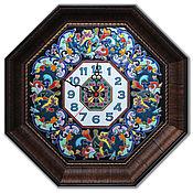 Для дома и интерьера ручной работы. Ярмарка Мастеров - ручная работа Часы декоративные,керамические,Багет.. Handmade.