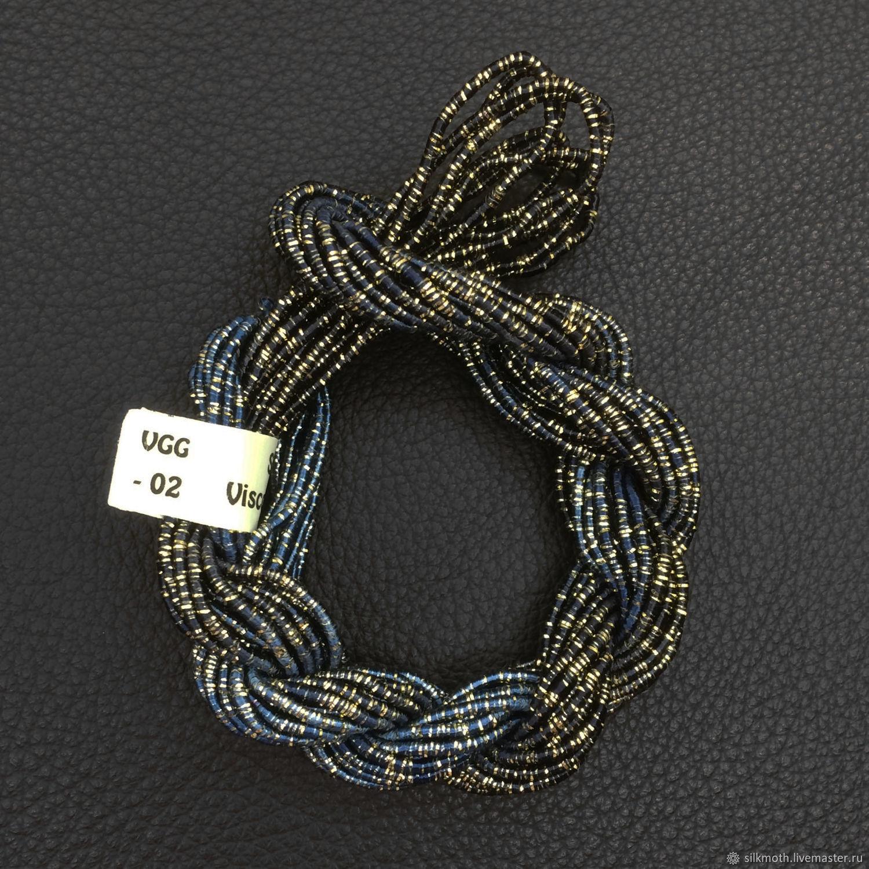 Вискозный шнур, Великобритания, VGG-02, Нитки, Красногорск,  Фото №1