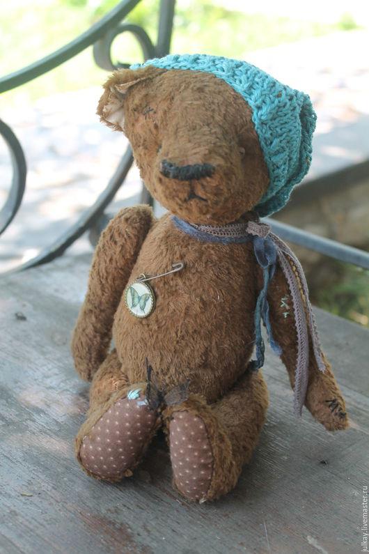 Мишки Тедди ручной работы. Ярмарка Мастеров - ручная работа. Купить Мишутка..  мой милый друг.... Handmade. Коричневый, ленты