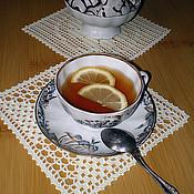 """Для дома и интерьера ручной работы. Ярмарка Мастеров - ручная работа Чайный набор """"Приглашаем на чаепитие!"""". Handmade."""