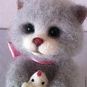 """Куклы и игрушки ручной работы. Ярмарка Мастеров - ручная работа Валяная игрушка  """"Кошки-мышки"""". Handmade."""