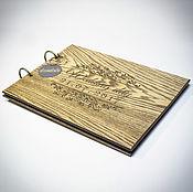 Свадебный салон ручной работы. Ярмарка Мастеров - ручная работа Фотоальбом из дерева. Handmade.