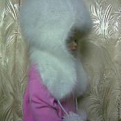 Работы для детей, ручной работы. Ярмарка Мастеров - ручная работа Детская шапочка из кроличьего пуха №08. Handmade.