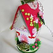"""Сувениры и подарки ручной работы. Ярмарка Мастеров - ручная работа Композиция из конфет """"Любимый домик"""". Handmade."""