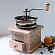 """Кухня ручной работы. кофемолка  """"механика итальянского Арт-Деко"""". интерьерные реновации. Ярмарка Мастеров. Кофе, винтажный стиль, сталь"""
