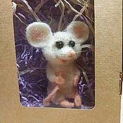 Грызунки, погремушки ручной работы. Ярмарка Мастеров - ручная работа Символ 2020 года водяная крыса игрушка. Handmade.
