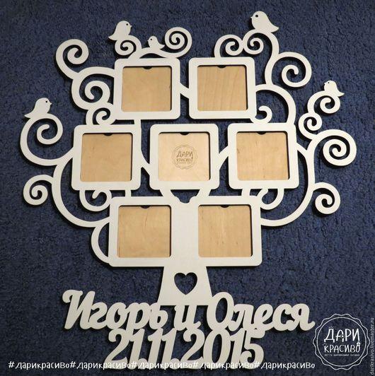 Оригинальная фоторамка `Семейное дерево`.