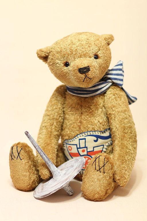 Мишки Тедди ручной работы. Ярмарка Мастеров - ручная работа. Купить Мишка Тедди Никита, 44 см. Handmade.