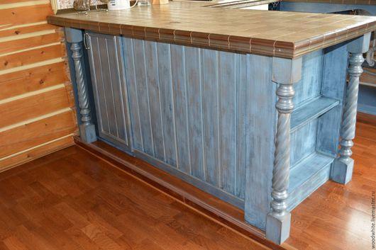 Мебель ручной работы. Ярмарка Мастеров - ручная работа. Купить Кухонный остров. Handmade. Кухня, кантри стиль, прованский стиль
