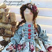 Куклы и игрушки ручной работы. Ярмарка Мастеров - ручная работа Адалинда , хранительница дома , голубой шебби. Handmade.