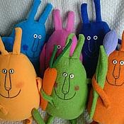 Куклы и игрушки ручной работы. Ярмарка Мастеров - ручная работа Зайцы весенние. Handmade.