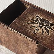 Сувениры и подарки handmade. Livemaster - original item Wooden box with individual design. Handmade.