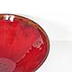 Тарелки ручной работы. Тарелка керамическая Красный мак - 3. NIBOQUA авторская керамика. Ярмарка Мастеров. Огонь, блюдо для фруктов