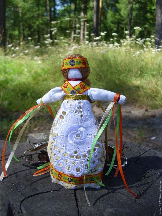 Народные куклы ручной работы. Ярмарка Мастеров - ручная работа. Купить Желанница - обрядовая кукла. Handmade. Комбинированный, оберег для девочки