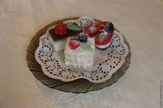 Мыло ручной работы. Ярмарка Мастеров - ручная работа. Купить Мыльное пирожное Наполеон. Handmade. Прекрасный подарок, кондитерское мыло