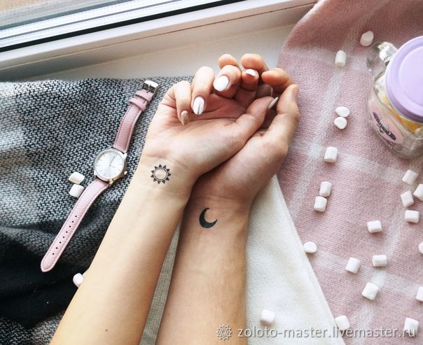 Paired temporary tattoos in the range, Subculture decorations, Chaikovsky,  Фото №1