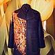 """Верхняя одежда ручной работы. Заказать Пальто """"Золото на черном"""". ElKo (Элла Ковалева). Ярмарка Мастеров. Шерстяное пальто, шёлк"""
