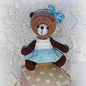 Куклы и игрушки ручной работы. Ярмарка Мастеров - ручная работа Игрушка мишка Анютка. Handmade.