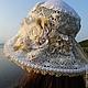 Шляпы ручной работы. Кружевная шляпка «Чудесные мгновенья». Only you.... Интернет-магазин Ярмарка Мастеров. Орнамент, ажурный, роза