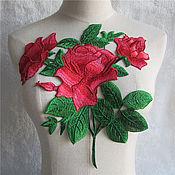Материалы для творчества handmade. Livemaster - original item Unmatched 3D embroidery, applique, Emmy. Handmade.