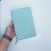 Канцелярские товары handmade. Livemaster - original item Diary with painting