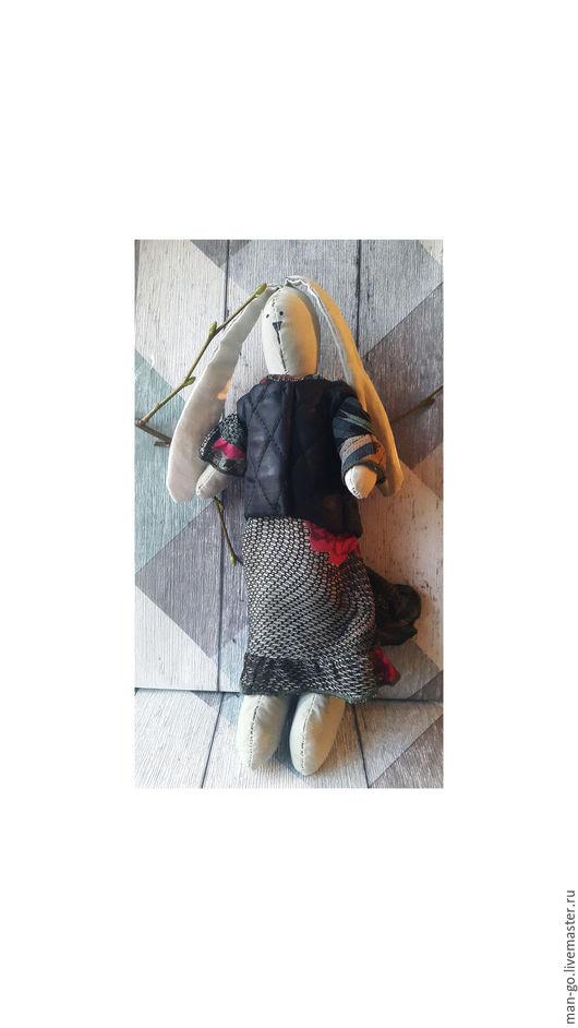 Зайчик тильда `В пиджаке`