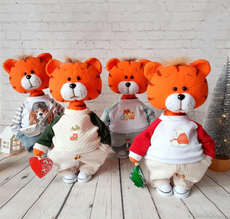 Tiger Semyon. Symbol of the year 2022, Stuffed Toys, Suvorov,  Фото №1