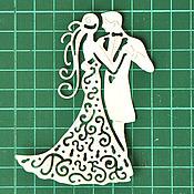 Материалы для творчества ручной работы. Ярмарка Мастеров - ручная работа Вырубка для скрапбукинга Танцующая пара. Handmade.