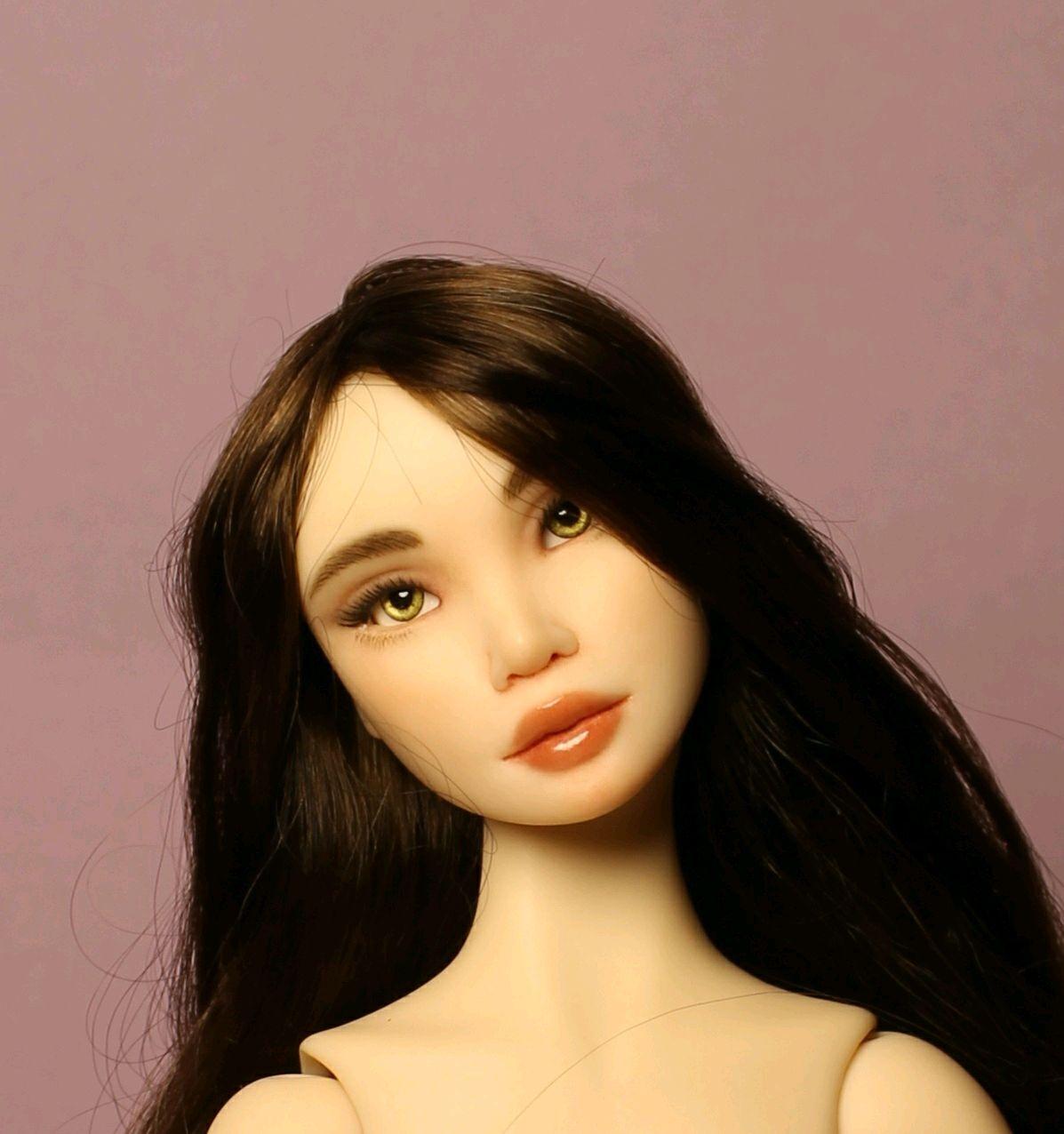 Авторская шарнирная кукла.Моника, Шарнирная кукла, Санкт-Петербург,  Фото №1