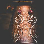 Украшения ручной работы. Ярмарка Мастеров - ручная работа Серьги «Мария». Handmade.