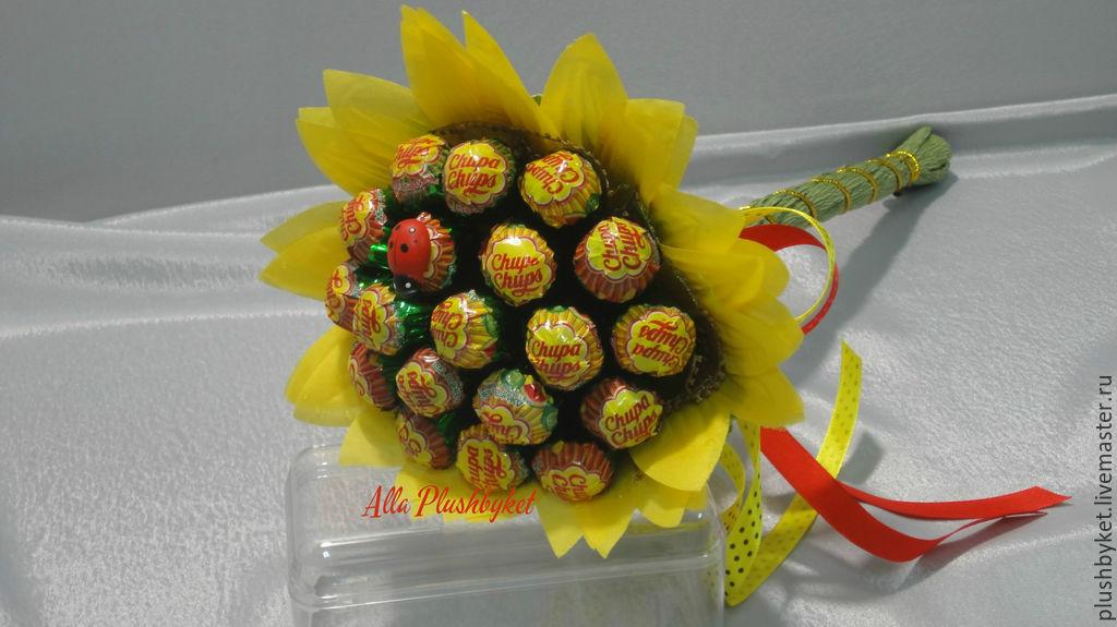 Букет из конфет чупа чупс своими руками