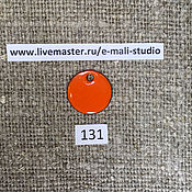 Материалы для творчества handmade. Livemaster - original item Enamel opaque Orange No.131 Dulevo. Handmade.