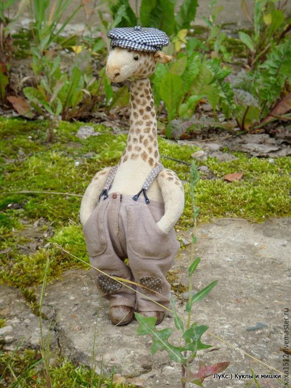 Giraf teddy Goga, Stuffed Toys, Zelenograd,  Фото №1
