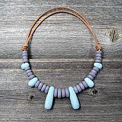 Украшения handmade. Livemaster - original item Ceramic necklace. Handmade.