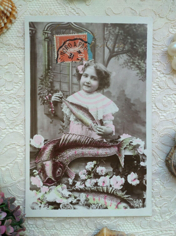 Магазин антикварной открытки