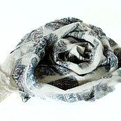 """Аксессуары ручной работы. Ярмарка Мастеров - ручная работа """" Олеся """" шарф - авторский войлок, нуно войлок. Handmade."""