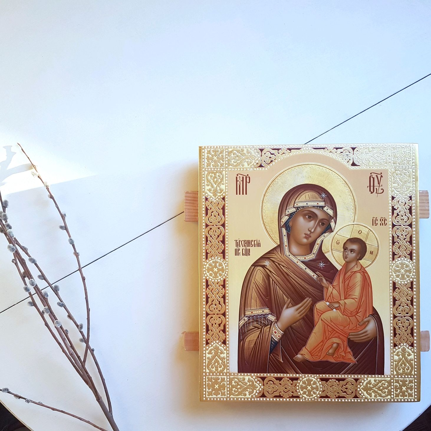 The Tikhvin icon of the Mother of God, Icons, Tomsk,  Фото №1