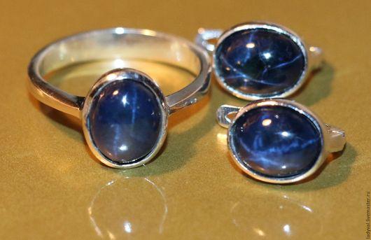 Последний комплект в наличии кольцо 18 размер камни; Комплект № 2 ....камни 0.9  х 0.8  мм.