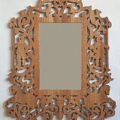 Для дома и интерьера handmade. Livemaster - original item Frame with mirror oak Gothic. Handmade.