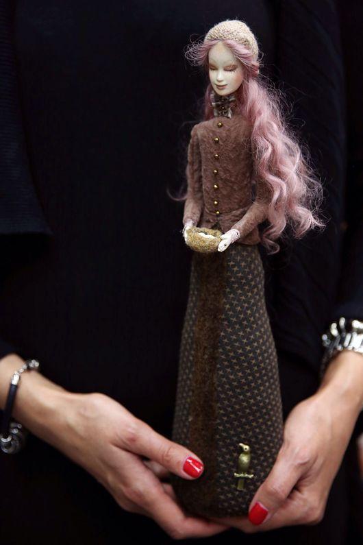 """Коллекционные куклы ручной работы. Ярмарка Мастеров - ручная работа. Купить авторская кукла Дина из коллекции """"Весна"""". Handmade. Кукла"""