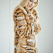 Одежда handmade. Livemaster - original item Fox fur coat. Handmade.