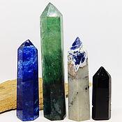 Фен-шуй и эзотерика handmade. Livemaster - original item Set of fluorite, sodalite, obsidian, glass crystals. Handmade.