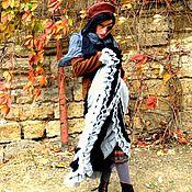 Одежда ручной работы. Ярмарка Мастеров - ручная работа Юбка клеш в стиле бохо вязаная. Handmade.